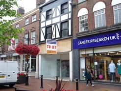 816 SF High Street Shop for Rent  |  17 Ironmarket, Newcastle Under Lyme, ST5 1RF