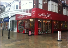 1,003 SF High Street Shop for Rent | 233 Lord Street, Southport, PR8 1PE