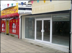 215 SF High Street Shop for Rent  |  10 Wellington Way, Waterlooville, PO7 7ED