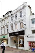 720 SF High Street Shop for Rent  |  78 Old Christchurch Road, Bournemouth, BH1 1LR