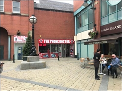 636 SF Shopping Centre Unit for Rent  |  Unit 34 (14) The Spindles, Oldham, OL1 1HE