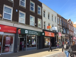 986 SF High Street Shop for Rent  |  10 High Row, Darlington, DL3 7QQ
