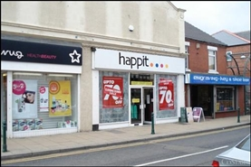 2,835 SF High Street Shop for Rent  |  Units 1-2, Dinnington, S25 2PS