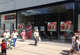 995 SF Shopping Centre Unit for Rent  |  Unit 1b, West Orchards Shopping Centre, Coventry, CV1 1QX