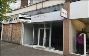 880 SF High Street Shop for Rent  |  16 Arundel Street, Portsmouth, PO1 1NL