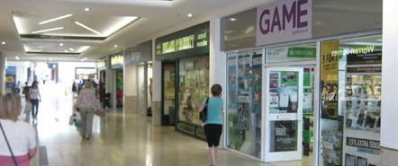 1,973 SF Shopping Centre Unit for Rent  |  Unit 4, Orchard Shopping Centre, Taunton, TA1 3TP