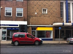 309 SF High Street Shop for Rent  |  53 Foregate Street, Worcester, WR1 1DX