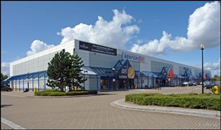 10,000 SF Retail Park Unit for Rent  |  Unit C, The Place Retail Park, Milton Keynes, MK9 1EN