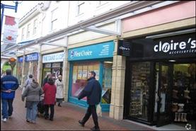 754 SF Shopping Centre Unit for Rent  |  Unit 5, Castle Court Shopping Centre, Caerphilly, CF83 1NU