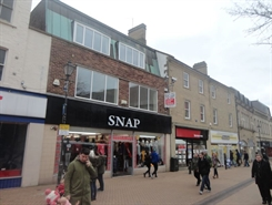 1,598 SF High Street Shop for Rent  |  40 West Gate, Mansfield, NG18 1RS