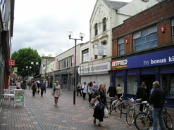 3,222 SF High Street Shop for Rent  |  54 55 Bridge Street, Swindon, SN1 1BL