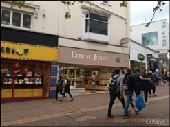 546 SF High Street Shop for Rent  |  40 Commercial Road, Bournemouth, BH2 5LP