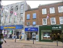 588 SF High Street Shop for Rent  |  7 Eastgate Street, Gloucester, GL1 1NS