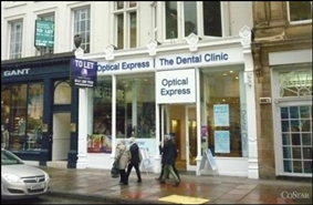 2,801 SF High Street Shop for Rent  |  92 George Street, Edinburgh, EH2 3DF