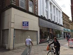 1,131 SF High Street Shop for Rent  |  11 Sankey Street, Warrington, WA1 1XG