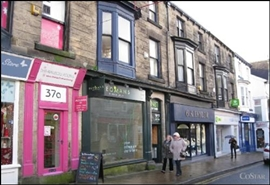 550 SF High Street Shop for Rent  |  39 Oxford Street, Harrogate, HG1 1PW