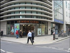 3,766 SF High Street Shop for Rent  |  22 - 23 Lime Street, London, EC3M 7HB