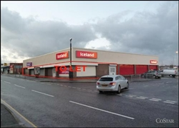 2,650 SF High Street Shop for Rent  |  Iceland, Chesterfield, S45 9JE