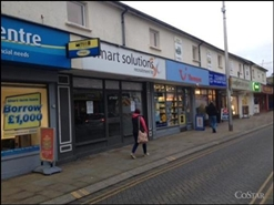 372 SF High Street Shop for Rent  |  16 Bethcar Street, Ebbw Vale, NP23 6HQ