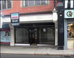 521 SF High Street Shop for Rent  |  Unit 1, Thornes Hall, Shrewsbury, SY1 2BQ