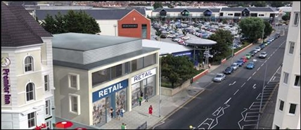 8,300 SF High Street Shop for Rent  |  Tudno Point, Llandudno, LL30 1YL