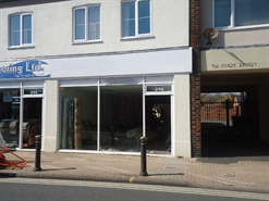 1,171 SF High Street Shop for Rent  |  346 Lymington Road, Christchurch, BH23 5EY