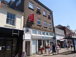1,082 SF High Street Shop for Rent  |  First Floor, 22 High Street, Christchurch, BH23 1AY