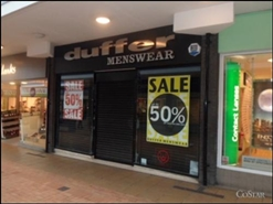 1,428 SF Shopping Centre Unit for Rent  |  Unit 40, 27 The Mall, Charterwalk Shopping Centre, Burnley, BB11 1BA
