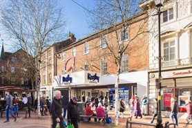 1,557 SF Shopping Centre Unit for Rent  |  17 Northway, Clock Towers Shopping Centre, Rugby, CV21 2JS
