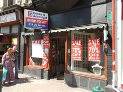 1,928 SF High Street Shop for Rent  |  12 Skinner Street, Newport, NP20 1GY