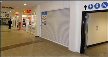 660 SF Shopping Centre Unit for Rent  |  Unit 17, Market Gates Shopping Centre, Great Yarmouth, NR30 2AX