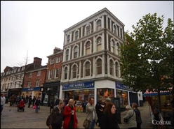 894 SF High Street Shop for Rent  |  31 Gentlemans Walk, Norwich, NR2 1NA
