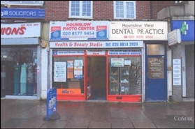 1,470 SF High Street Shop for Rent  |  300 Bath Road, Hounslow, TW4 7DN
