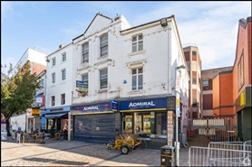 1,314 SF High Street Shop for Rent  |  23 - 25 Parliament Row, Stoke On Trent, ST1 1PW