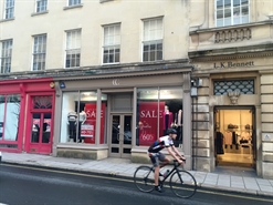 1,042 SF High Street Shop for Rent  |  24 New Bond Street, Bath, BA1 1BA
