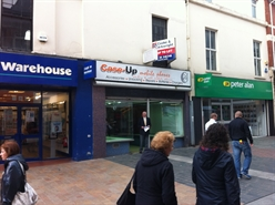 494 SF High Street Shop for Rent  |  134 High Street, Merthyr Tydfil, CF47 8DN