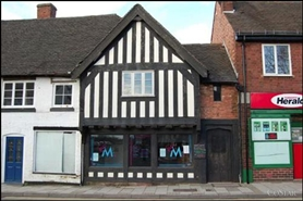 1,626 SF High Street Shop for Sale  |  111 Lichfield Street, Tamworth, B79 7QB