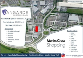 5,595 SF High Street Shop for Rent  |  Monks Cross Shopping Park, York, YO32 9JR