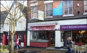 451 SF High Street Shop for Rent  |  51 Ironmarket, Newcastle Under Lyme, ST5 1PB