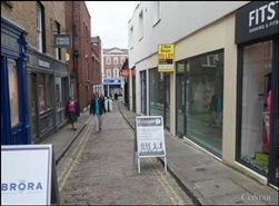 993 SF High Street Shop for Rent  |  23 Chapel Street, Guildford, GU1 3UL