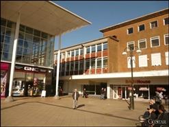 7,315 SF High Street Shop for Rent  |  8 - 9 Queens Square, Crawley, RH10 1DY