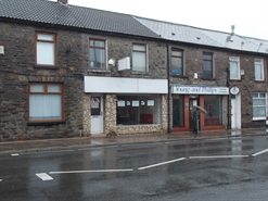 546 SF High Street Shop for Rent  |  76 Bute Street, Treorchy, CF42 5NU