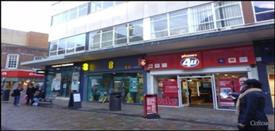 887 SF High Street Shop for Rent  |  6 Dudley Street, Wolverhampton, WV1 3EY