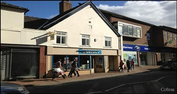 1,836 SF High Street Shop for Rent  |  3 Church Street, Oswestry, SY11 2SU
