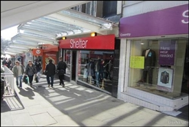 904 SF High Street Shop for Rent  |  39 Hertford Street, Coventry, CV1 1LF