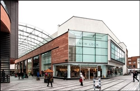 1,474 SF Shopping Centre Unit for Rent  |  19 Princesshay, Exeter, EX1 1GE