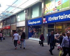 1,214 SF Shopping Centre Unit for Rent  |  Unit 4, Havelock Square, Swindon, SN1 1LE
