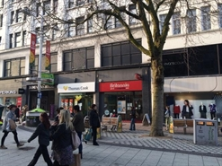 1,307 SF High Street Shop for Rent  |  39 Queen Street, Cardiff, CF10 2AS