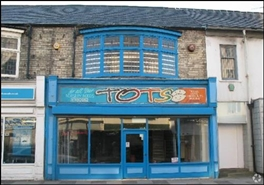 1,209 SF High Street Shop for Rent  |  58 Station Road, Redcar, TS10 1DU