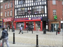 839 SF High Street Shop for Rent  |  21 Market Place, Oldham, OL1 3AB